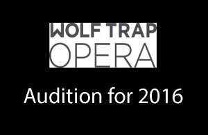 Audition for 2016