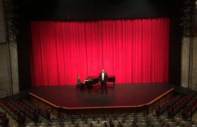 Auditions in the Patricia Corbett Theater at CCM