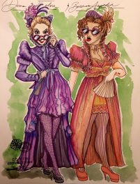 Fulvia & Aspasia