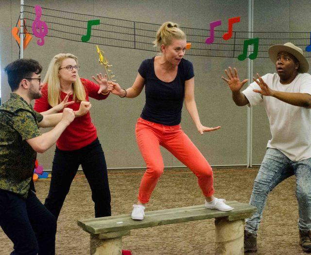 Wilhelmina Rehearsal