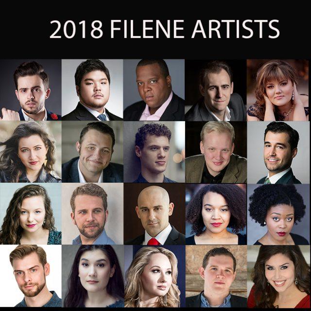 2018 Filene Artists